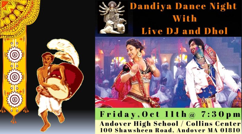 Dandiya Dance Night with Live DJ and Dhol